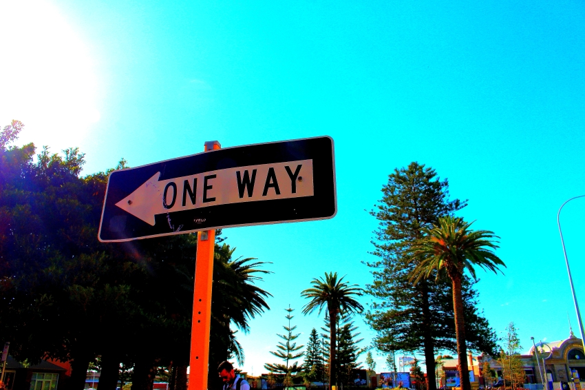 One way to wonderland