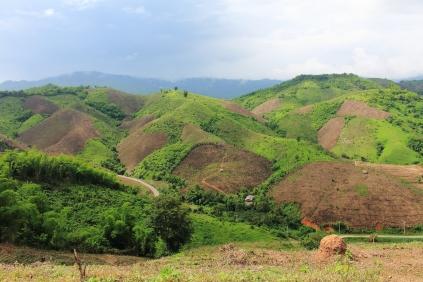 Chiang Rai mountains and plains