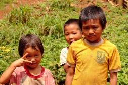 Hill tribe children