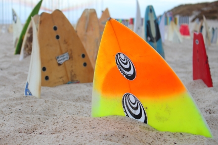 150 surfboard graveyard- cottesloe, Chris Anderson (NSW)