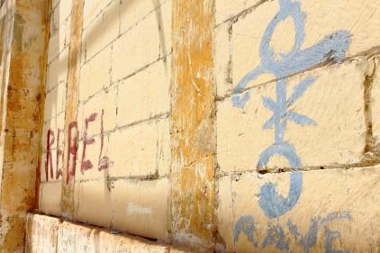 Graffitis of bygone days..