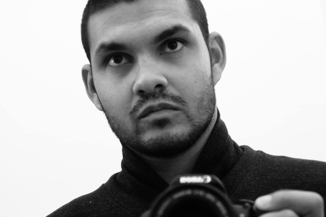 Eric Lemattre Self-Portrait